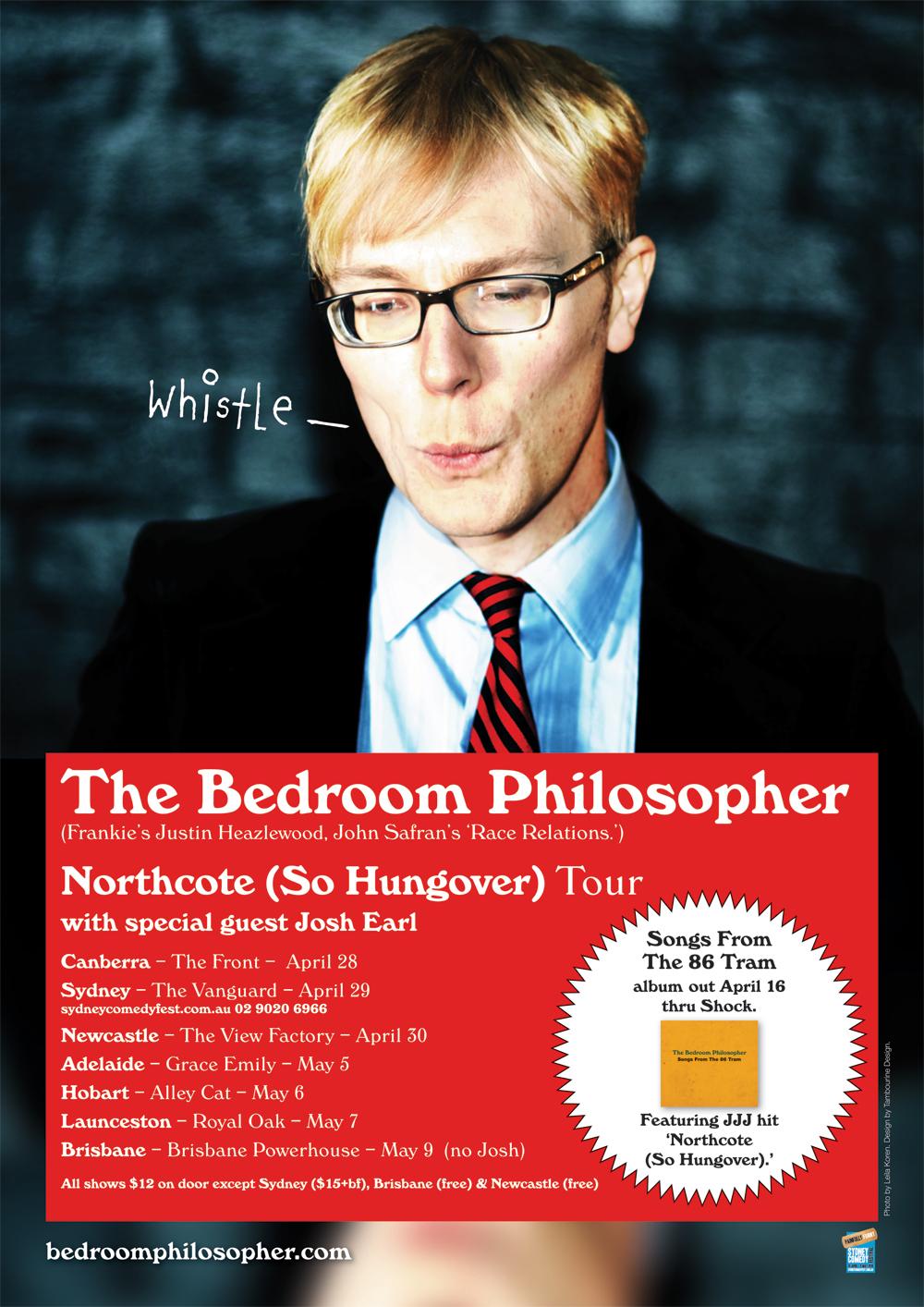 The Bedroom Philosopher - Brown & Orange